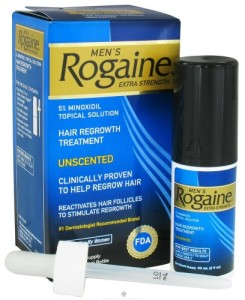 Rogaine (minoxidil) extra strength Unscented Solution